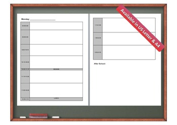Lesson Plan Templates & Calendars (Daily, Weekly, & Monthly){2014 - 2015}