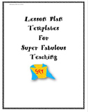 Lesson Plan Templates (Super Detailed & Easy)
