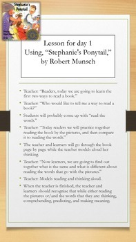 Lesson Plan: Three Ways to Read a Book