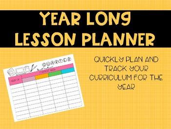 Lesson Plan Tracker
