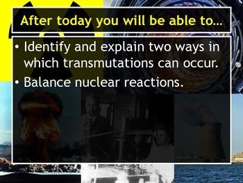 Lesson Plan: Transmutation