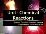 Lesson Plan: Types of Reactions - Double Replacement and Combustion