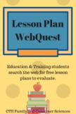 Lesson Plan Webquest