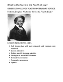 Lesson Plan - What to the Slave is the Fourth of July?