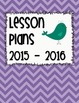 Lesson Plan and Folder Covers