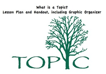 Lesson Plan and Handout: What are Topics? (Use this before