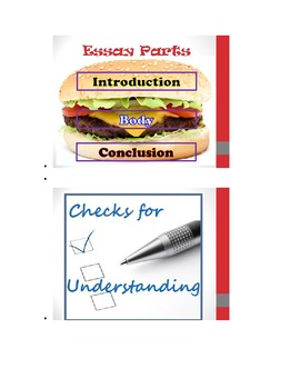 Lesson/ PowerPoint for the Prewriting & Rough Draft Stage of Writing Process