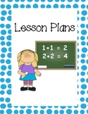 Lesson Plan and Teacher Organizational Binder Covers
