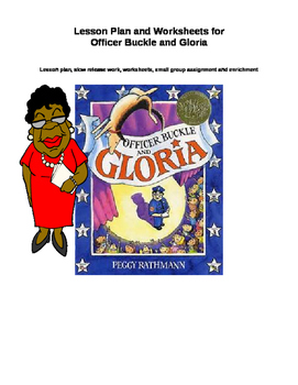 Lesson Plan and Worksheets for Ofrfice Buckle and Gloria