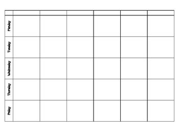 Lesson Plan and Year Theme Chart