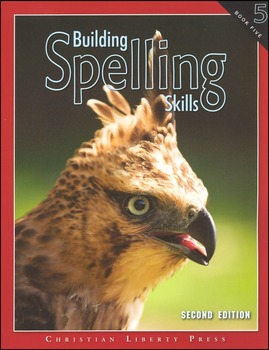 Lesson Plan for Building Spelling Skills Book 5