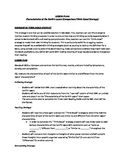 Lesson Plan for Characteristics of the Earth's Interior (L
