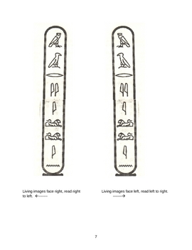 Lesson Plan for Egyptian Hieroglyphics and the Rosetta Stone