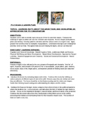 Lesson Plan for Science Tiger Activities