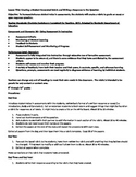 Lesson Plan for Student Created Rubrics