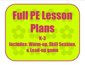 Lesson Plan for loco-motor skills
