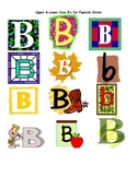 "Lesson Plan for the Alphabet Letter ""B"""