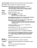 Solving systems of equations graphically    LESSON PLAN