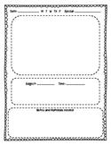 Lesson Plan pages for Kinder teachers