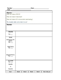 Lesson Plan with Attached Sp-Ed Accom/Mods Matrix Template - Editable