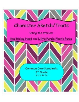 Lesson PlanCharacter Sketch/Traits