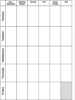 Lesson Planbook - Digital and Editable!!