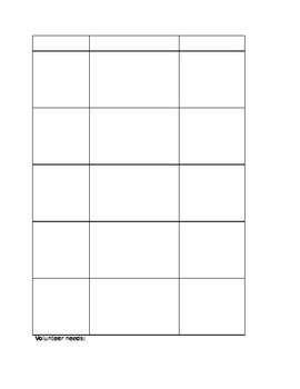 Lesson Planbook Template
