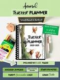 Lesson Planner 2020-2021/ Teacher Calendar/Teacher Binder/