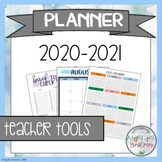 Lesson Planner 2020-2021 for Secondary Teachers (Middle &
