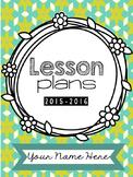 Lesson Planner 2015-2016