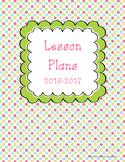 Lesson Planner 16-17