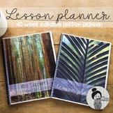 Lesson Plans Template Editable