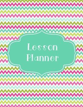 Lesson Planner Chevron Cover