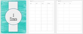Lesson Planner (Editable Google Slides)