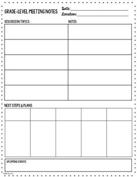 Lesson Planner: Planner Templates K-5
