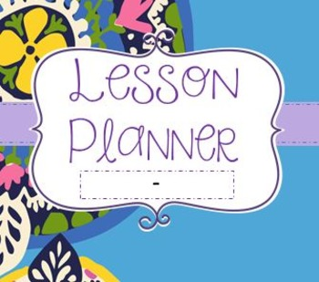 Lesson Planner / Teacher Binder