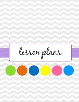 Lesson Planner Teacher Binder Dividers - Owl Theme