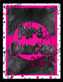 Lesson Planner Teacher Notebook Section Cover Pages