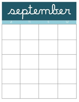 Lesson Planner, Yearly Calendar and Student Checklist
