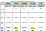 Lesson Planning (Editable)
