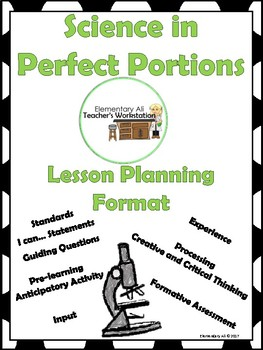 Lesson Planning Guide: Science in Perfect Portions