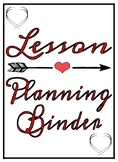 Lesson Planning - Hearts and Arrows Themed