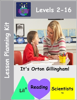 Lesson Planning Kit for Lil' Reading Scientists (OG)