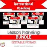 Lesson Planning Materials BUNDLE [Editable]