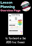 Lesson Planning Overview