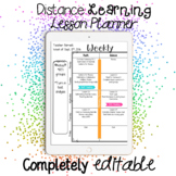 Weekly Planner Pages {Editable} Variety Pack of Formats &