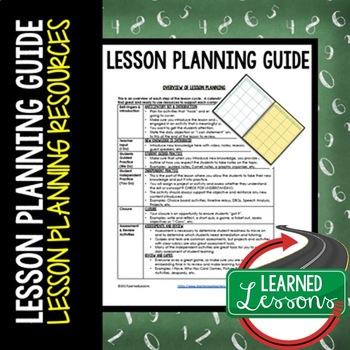 Lesson Planning Quick Tips: Professional Development Blog Series