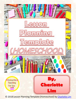 Lesson Planning Template (Homeschool)