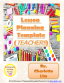 Lesson Planning Template (Teachers)