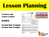 Lesson Planning: Template and Examples